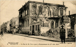 CPA AK MONASTIR BITOLA La Rue Du Roi De Pierre MACEDONIA SERBIA (709344) - Macedonia