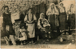 CPA AK Souvenir D'Orient. Groupe De Blanchisseuse MACEDONIA SERBIA (709352) - Macedonia