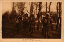 CPA AK Balkan Typen. Marktfrauen MACEDONIA SERBIA (709353) - Macedonia