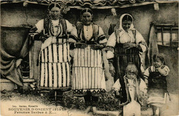 CPA AK Souvenir D'Orient. Femmes Serbes MACEDONIA SERBIA (709361) - Macedonia