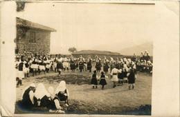 CPA AK Carte Photo Real Folklore MACEDONIA SERBIA (709366) - Macedonia