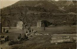 CPA AK Carte Photo Real Bridge Ruins MACEDONIA SERBIA (709371) - Macedonia