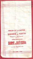 87 - COUSSAC BONNEVAL - SAC à FARINE - Minoterie M Eunier - Moulin à Farine De La Bastide - Barrière & Martin - Otros