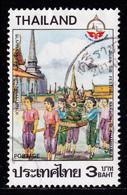 Thailand Stamp 1987 Visit Thailand Year 3 Baht - Used - Thailand