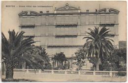 06 MENTON  Grand-Hôtel Des Ambassadeurs - Menton