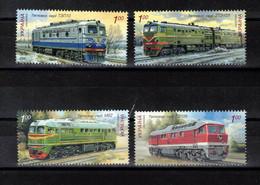 UKRAINE  Timbres Neufs  **  De 2008  ( Ref 4472   )  Transports - Trains - Ucrania