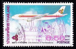 Thailand Stamp 1985 25th Anniversary Of Thai Airways International Limited 8.50 Baht - Used - Thailand