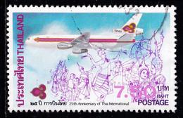 Thailand Stamp 1985 25th Anniversary Of Thai Airways International Limited 7.50 Baht - Used - Thailand