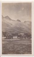 Photo De Particulier Hautes Alpes Col Du Lautaret  Véhicules Anciens  A Identifier Circa 1930 Réf 4044 - Luoghi