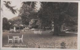 Schweiz - Langenbruck - Hotel Pension Waldeck, Parkpartie - 1927 - BL Bâle-Campagne
