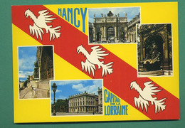 54 Nancy Place Stanislas Fontaine Amphitrite Sculpteur Guibal Grille De Jean Lamour ( Multivues ) 45 - Nancy