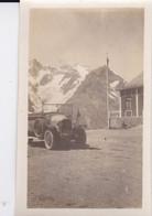 Photo De Particulier Hautes Alpes Col Du Lautaret  Véhicule Ancien A Identifier Circa 1930 Réf 4045 - Luoghi