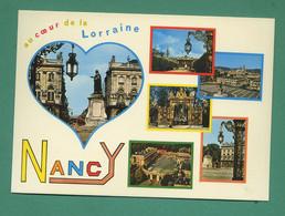 54 Nancy Place Stanislas Fontaine Amphitrite Sculpteur Guibal Grille De Jean Lamour ( Multivues ) 46 - Nancy