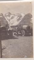 Photo De Particulier Hautes Alpes Col Du Lautaret  Véhicule Ancien A Identifier Circa 1930 Réf 4046 - Luoghi
