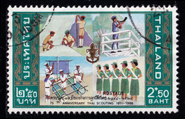 Thailand Stamp 1986 75th Anniversary Thai Scouting 2.50 Baht - Used - Thailand