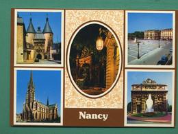 54 Nancy Place Stanislas Fontaine Amphitrite Sculpteur Guibal Grille De Jean Lamour ( Multivues ) 49 - Nancy