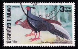 Thailand Stamp 1988 Pheasants 3 Baht - Used - Thailand