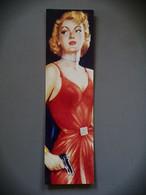 Marque-page Signet Tout ça Pour Une Fille Couverture De Roman Noir 1996 - Bookmarks