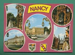 54 Nancy Place Stanislas Fontaine Amphitrite Sculpteur Guibal Grille De Jean Lamour ( Multivues ) 51 - Nancy