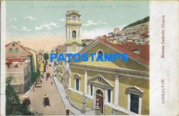 157469 GIBRALTAR ROMAN CATHOLIC CHURCH POSTAL POSTCARD - Gibraltar
