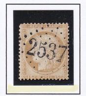 GC 2537 WIMILLE ( Dept 61 Pas De Calais ) S / N° 55 Indice Baudot S / L : 23 Soit 950€ Remplaçant Alsace Lorraine - 1849-1876: Periodo Classico