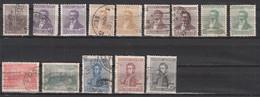 Argentine  179 A + 196 A + 196 B + 197 A + 197 B + 198 A + 198 B + 199 A + 199 B + 201 A + 202 A + 203 + 205 + 207 ° - Used Stamps