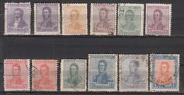 Argentine  196 A  + 212 A + 213 A + 214 A + 215 A + 216 A + 217 A + 217 B + 218 A + 219 B + 220 B + 224 ° - Used Stamps