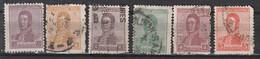 Argentine 228 à 234 + 236 à 239 ° - Used Stamps