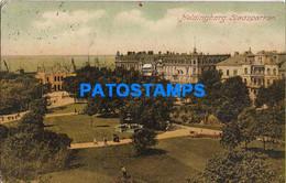 157470 SWEDEN HELSINGBORG CITY PARK SPOTTED POSTAL POSTCARD - Sweden