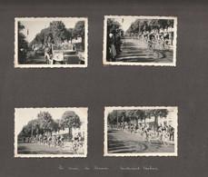 4 PHOTOS TOUR DE FRANCE Ver 1950 BD VAUBAN 80100 ABBEVILLE - Ciclismo