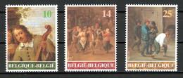 BE   2393 - 2395   XX   ---   Art Belge : David Teniers II Le Jeune - Nuovi