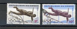 CONGO - J.O. - N° Yvert 545+548 Obli. - Republic Of Congo (1960-64)