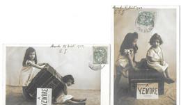Fillettes à Vendre (2 Cartes) - Scenes & Landscapes