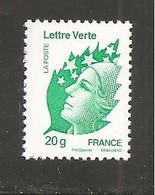 France, 4593, 1er Tirage, TD 215, Presse Epikos, Neuf **, TTB, Marianne De Beaujard, Lettre Verte - 2008-13 Marianne Of Beaujard