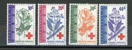 CONGO - CROIX ROUGE - N° Yvert 495/498 * - Republic Of Congo (1960-64)