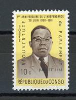 CONGO - PRESIDENT - N° Yvert 430 (*) - Republic Of Congo (1960-64)