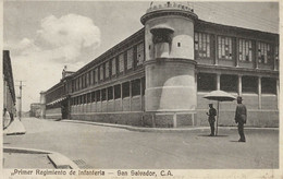 SAN SALVADOR   PRIMER REGIMIENTO DE INFANTERIA - Salvador