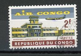 CONGO - AIR CONGO - N° Yvert 514 Obli. - Republic Of Congo (1960-64)