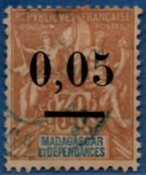 Madagascar & Dep. 1902 0.05 Overprint On 30 C MH 1 Stamp 2104.1046 - Used Stamps