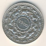SRI LANKA - CEYLON 1957: 5 Rupees, Silver (0.925), Buddhism, KM 126 - Sri Lanka