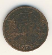 SRI LANKA - CEYLON 1937: 1 Cent, KM 111 - Sri Lanka