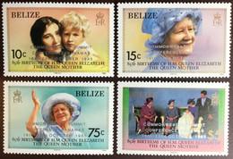 Belize 1985 Queen Mother Overprint Commonwealth Summit MNH - Belize (1973-...)