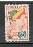 CONGO - DRAPEAU - N° Yvert 140 Obli. - Oblitérés