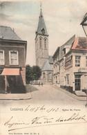 LESSINES - Eglise Saint Pierre - Carte Colorée Et Circulé En 1902 - Lessines