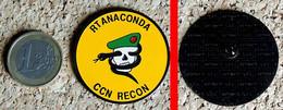 1 Insigne : US Recon Team ANACONDA Guerre Du Vietnam Serpent (Reproduction ID Premier) - Other