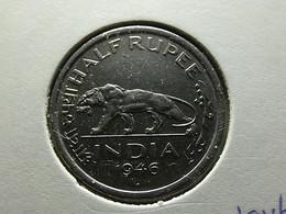 British India 1/2 Rupee 1946 - Colonies
