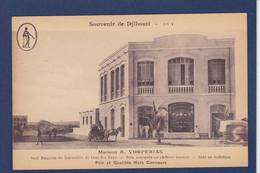 CPA Djibouti Commerce Shop Vorperian Arménie Non Circulé - Djibouti