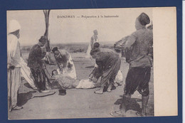 CPA Dahomey Non Circulé Bastonnade - Dahomey