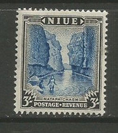 Niue - 1950 Matapa Waterfall 3s MNH **    SG 122  Sc 103 - Niue