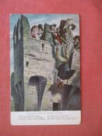 Kissing The Blarney Stone    Ireland      Ref 4841 - Unclassified